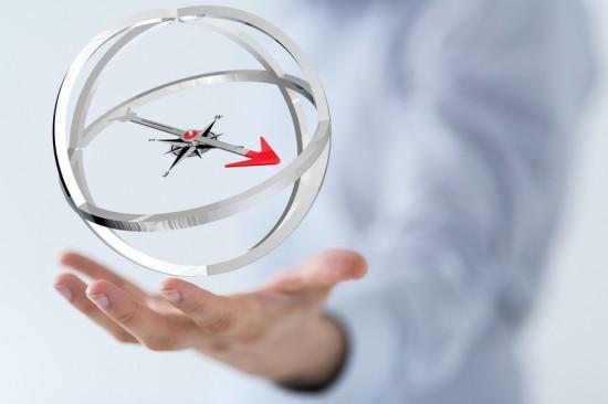 compass hand